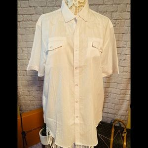 NWOT WHITE DIRECTION LOS ANGELES SHIRT